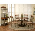 Cramco, Inc Harlow 5-Piece Transitional 48