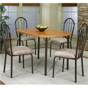 Cramco, Inc Cramco Dinettes - Heath 5 Piece Dining Set