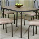 Cramco, Inc Cramco Dinettes - Heath Granite Laminate Top Table - Item Number: D7227-58