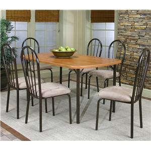Cramco, Inc Cramco Dinettes - Heath 7 Piece Dining Set