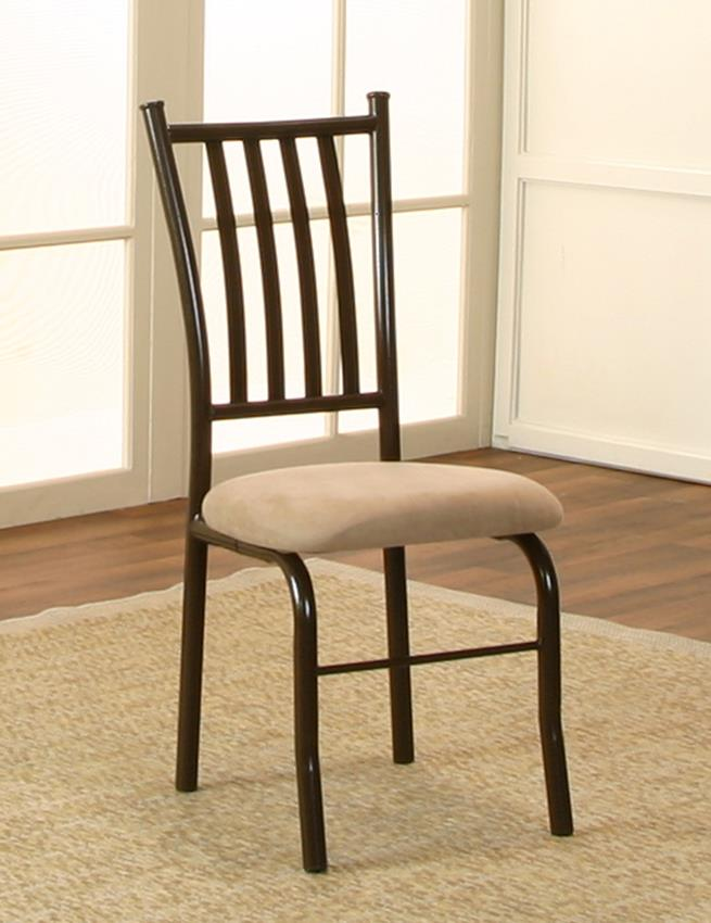 Cramco, Inc Jacey Microsuede Side Chair - Item Number: D8273-03