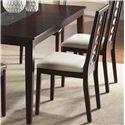 Cramco, Inc Jasmyn Side Chair  (RTA) - Item Number: SG268-01