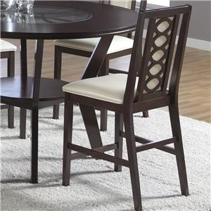 "Cramco, Inc Jasmyn 24"" Counter Stool  (RTA)"