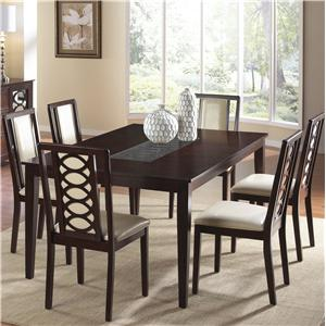Cramco, Inc Jasmyn 7 Piece Dining Set