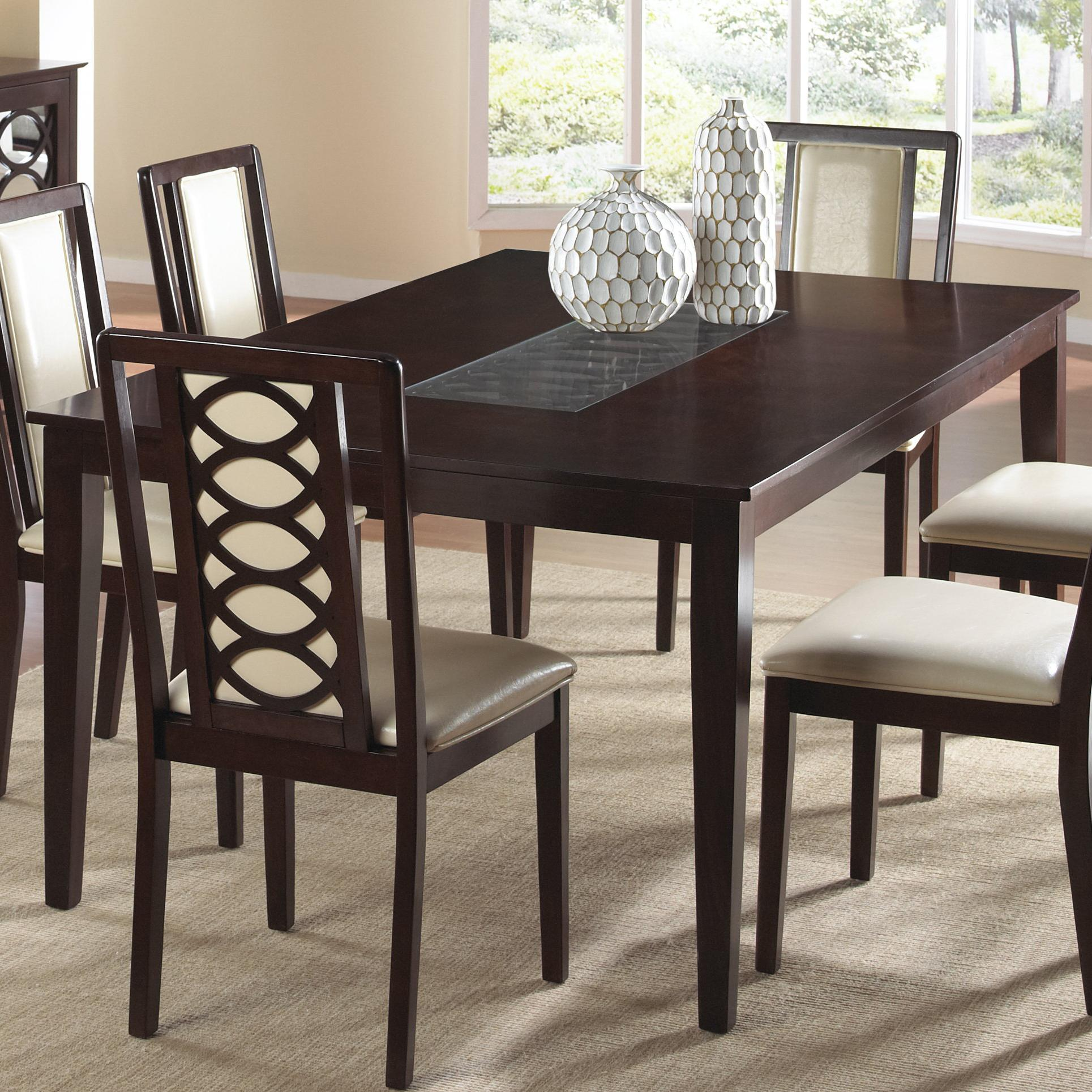 Cramco, Inc Jasmyn Rectangular Wood Table - Item Number: SG268-66