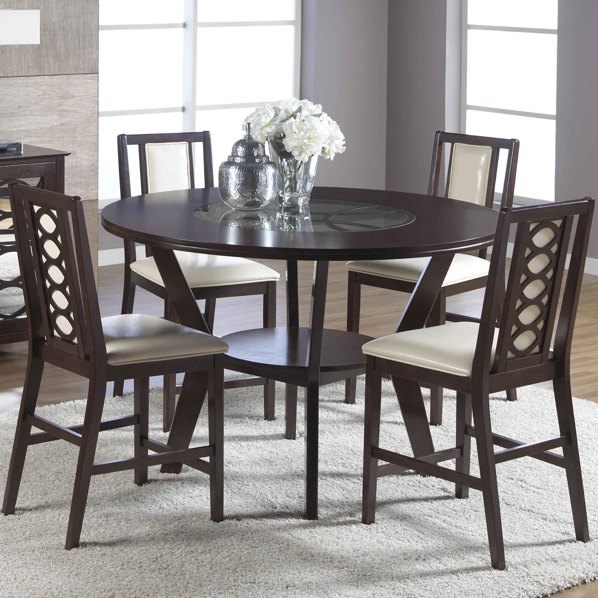 Dusk Dining Room Set Cramco: Cramco, Inc Jasmyn 5 Piece Counter Height Table Set