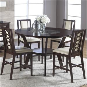 Cramco, Inc Jasmyn 5 Piece Pub Table