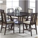 Cramco, Inc Jasmyn 5 Piece Pub Table - Item Number: SG268-68+4x24
