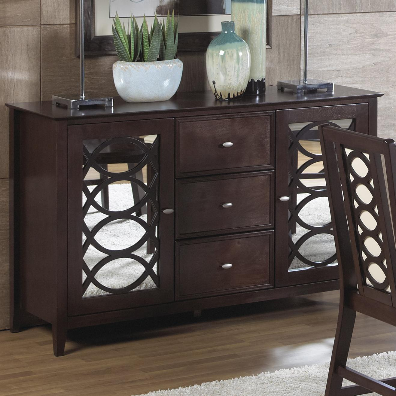 Cramco, Inc Jasmyn Sideboard - Item Number: SG268-81