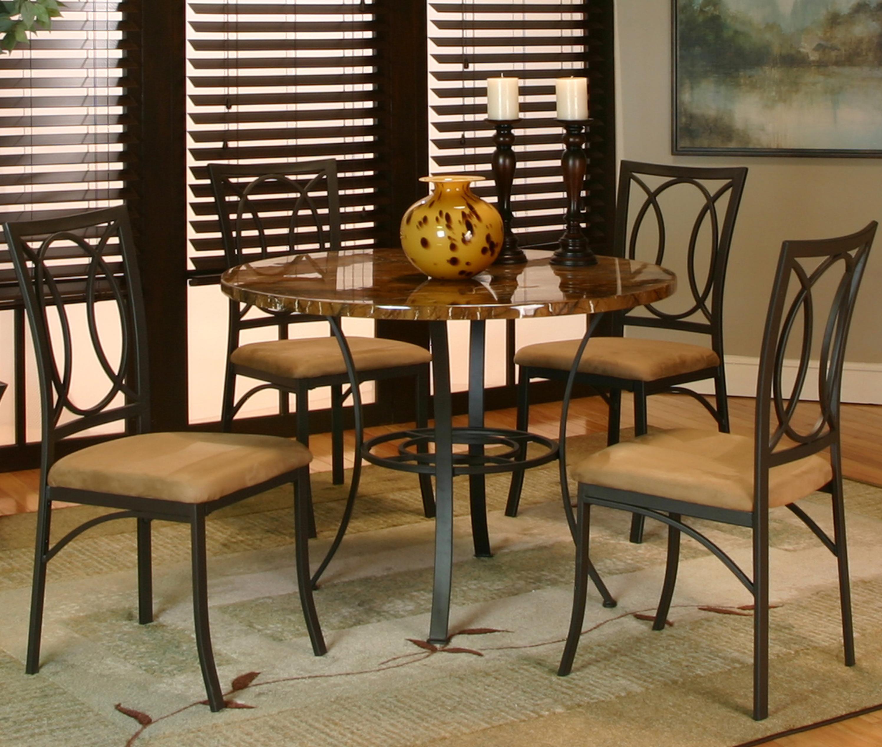 Cramco, Inc Kaden 5 Piece Dining Set - Item Number: T2301-65