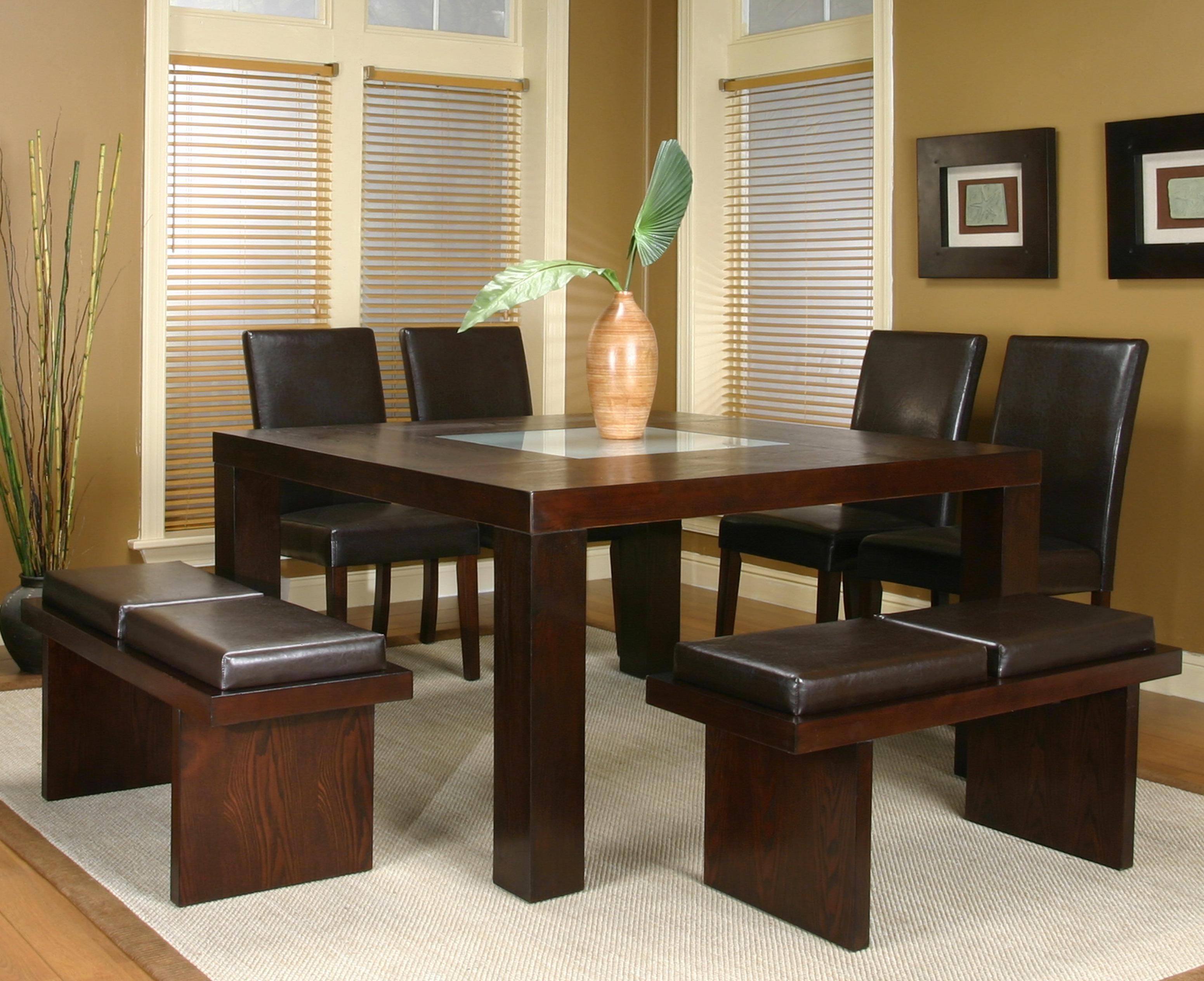 Cramco Inc Contemporary Design Kemper Seven Piece Dining Set