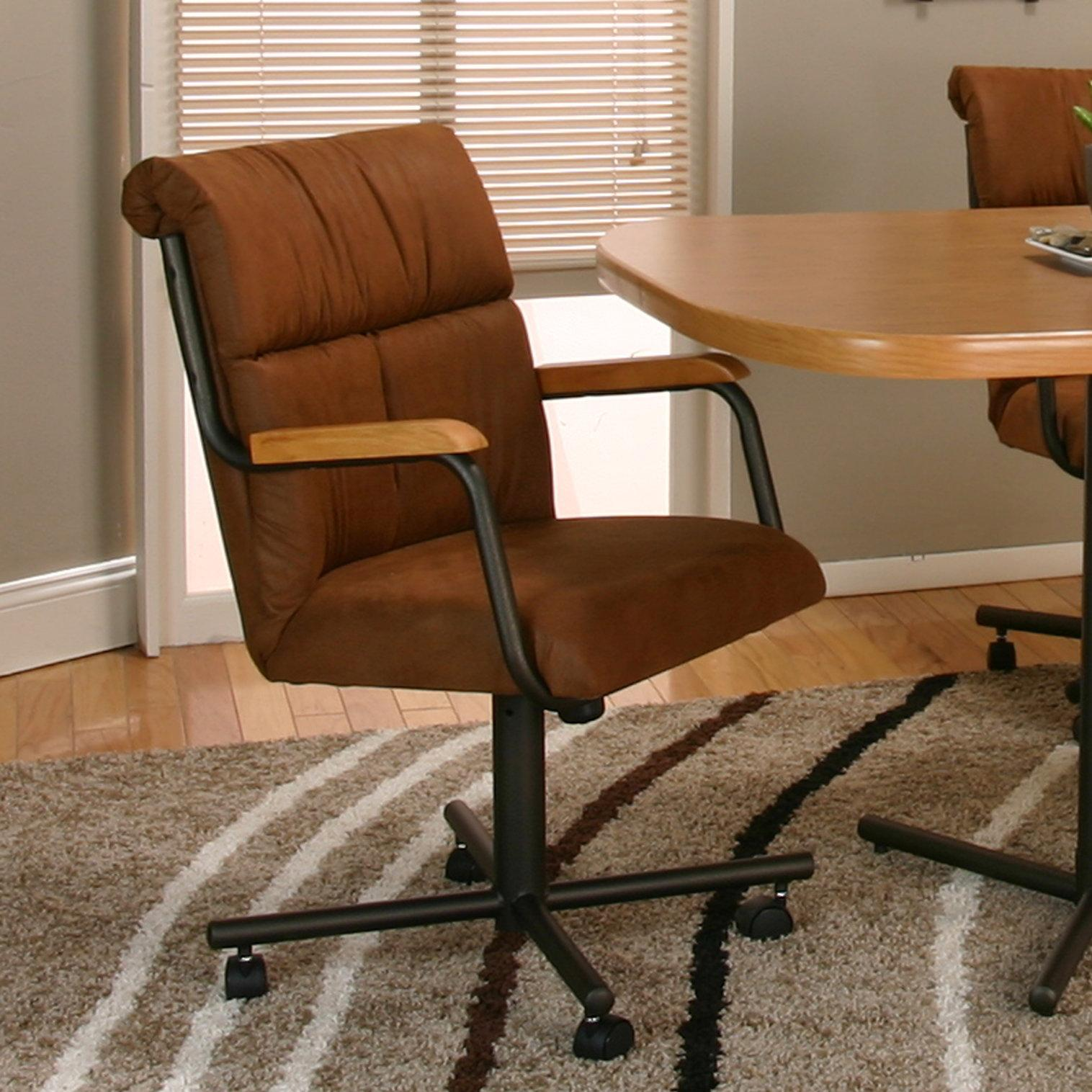 Cramco, Inc Landon Dining Chair with Casters - Item Number: 8325-07+08