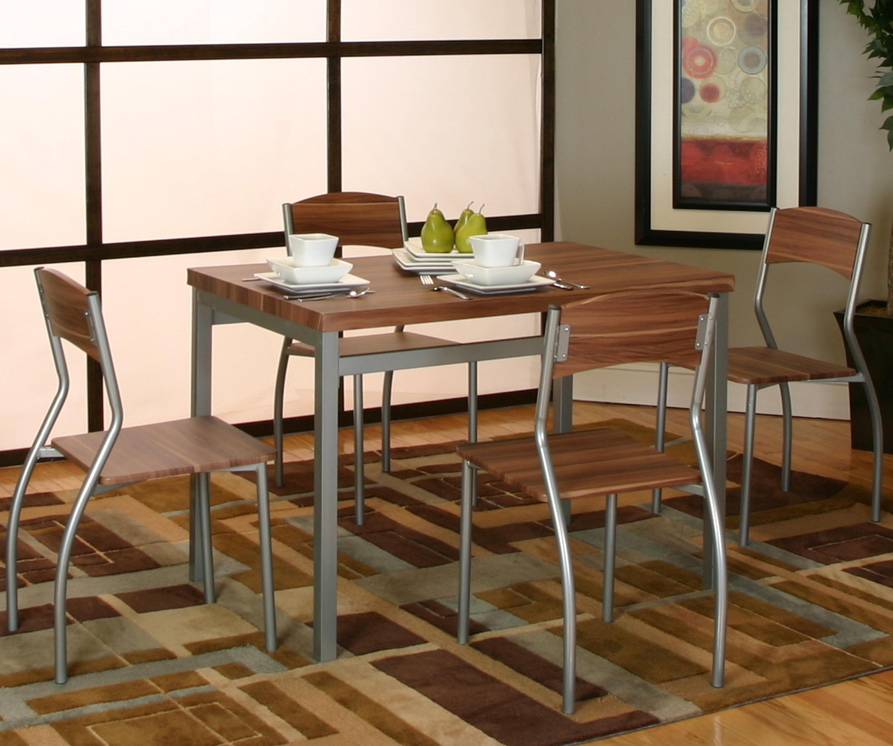 Cramco, Inc Lark 5 Piece Dining Set - Item Number: E2329-56+4x01