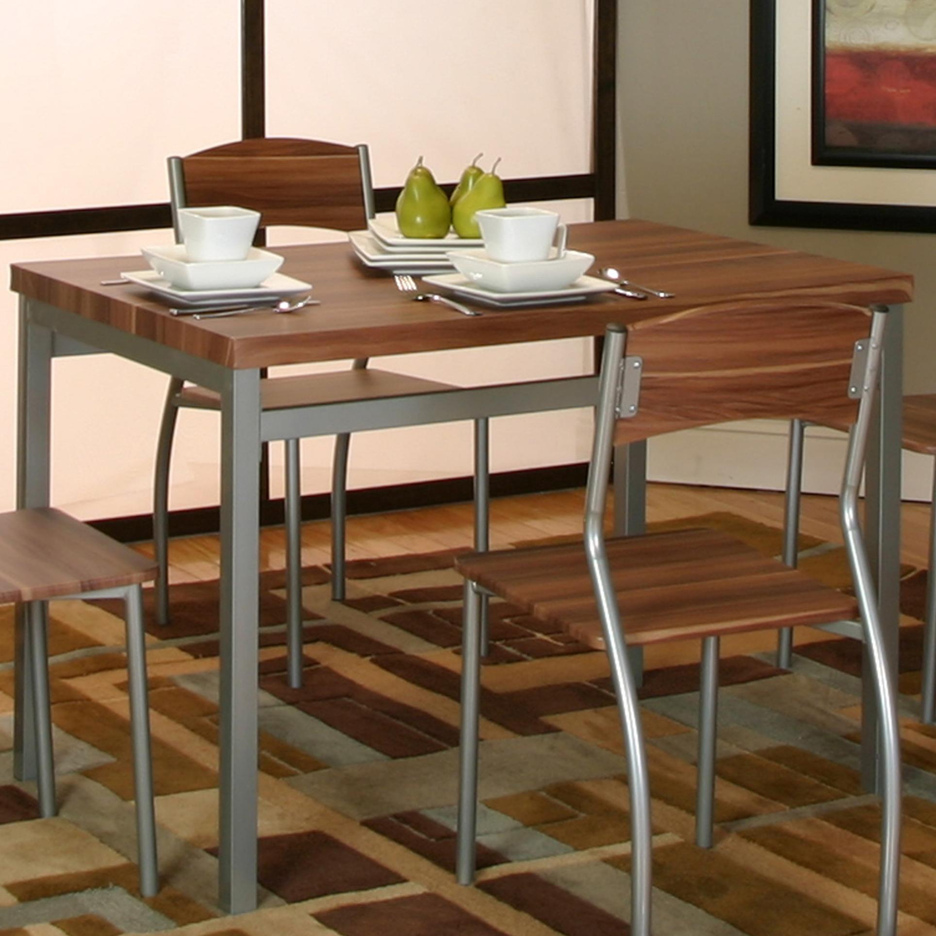 Cramco, Inc Lark Platinum/Acacia Veneer Table - Item Number: E2329-56
