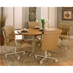 Cramco, Inc Cramco Motion - Marlin Five Piece Dining Set