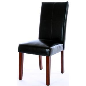 Cordovan Parson's Chair