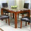 Cramco, Inc Cramco Trading Company - Mayfair  Faux Marble Top Table - Item Number: 22450-57