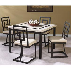 Cramco, Inc Maze 5 Piece Dining Set