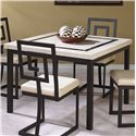 Cramco, Inc Maze Square Table - Item Number: W3442-51+54
