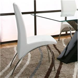 Cramco, Inc Mensa White Side Chair