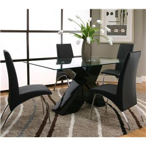 Cramco, Inc Mensa 5 Piece Table & Chair Set