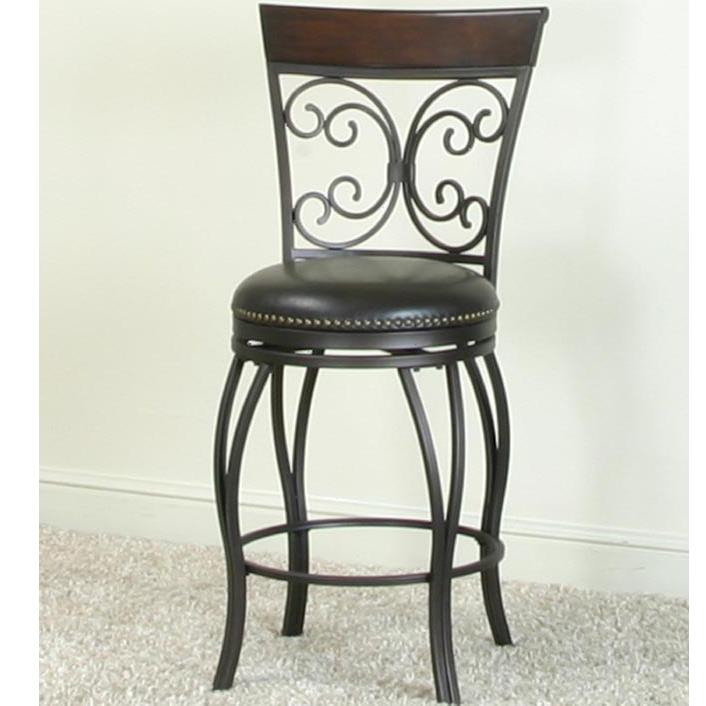 Cramco, Inc Monza Counter Swivel Stool - Item Number: J3004-24