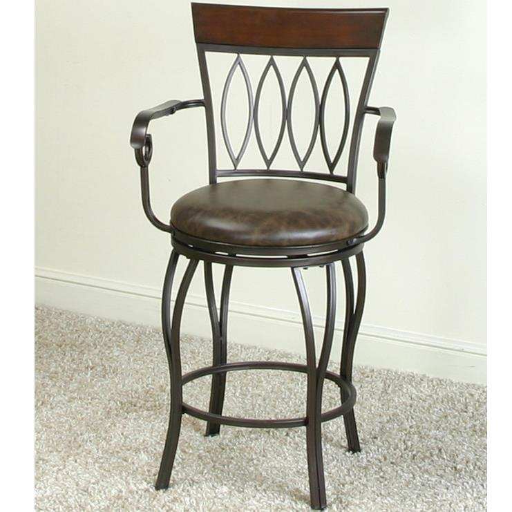 Cramco, Inc Monza Counter Swivel Stool - Item Number: J3052-24
