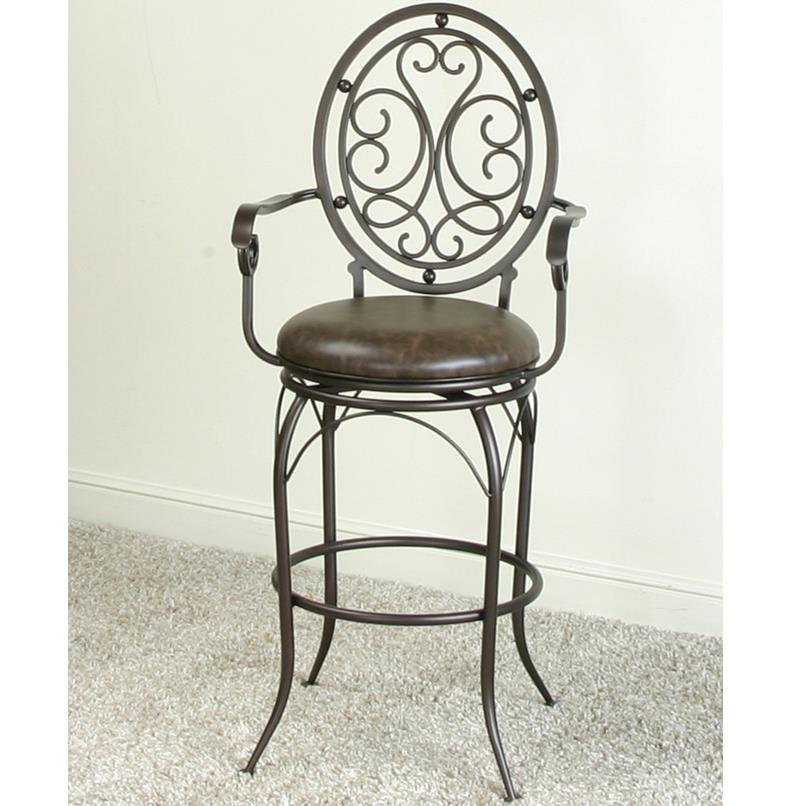 Cramco, Inc Monza Swivel Bar Stool - Item Number: J3053-30