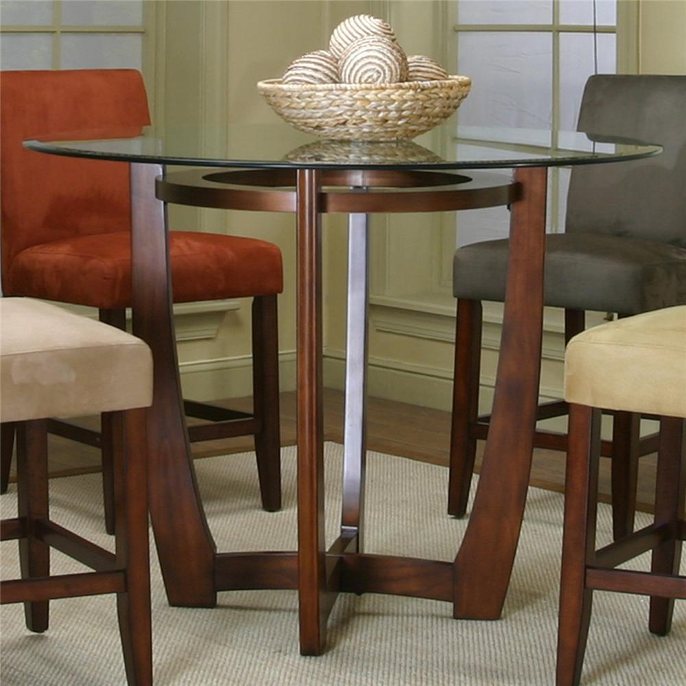 Cramco Inc Contemporary Design Parkwood Counter Height Dining Table Item Number 45537