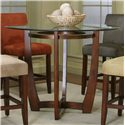 Cramco, Inc Contemporary Design - Parkwood Counter Height Dining Table - Item Number: 45537-49+41