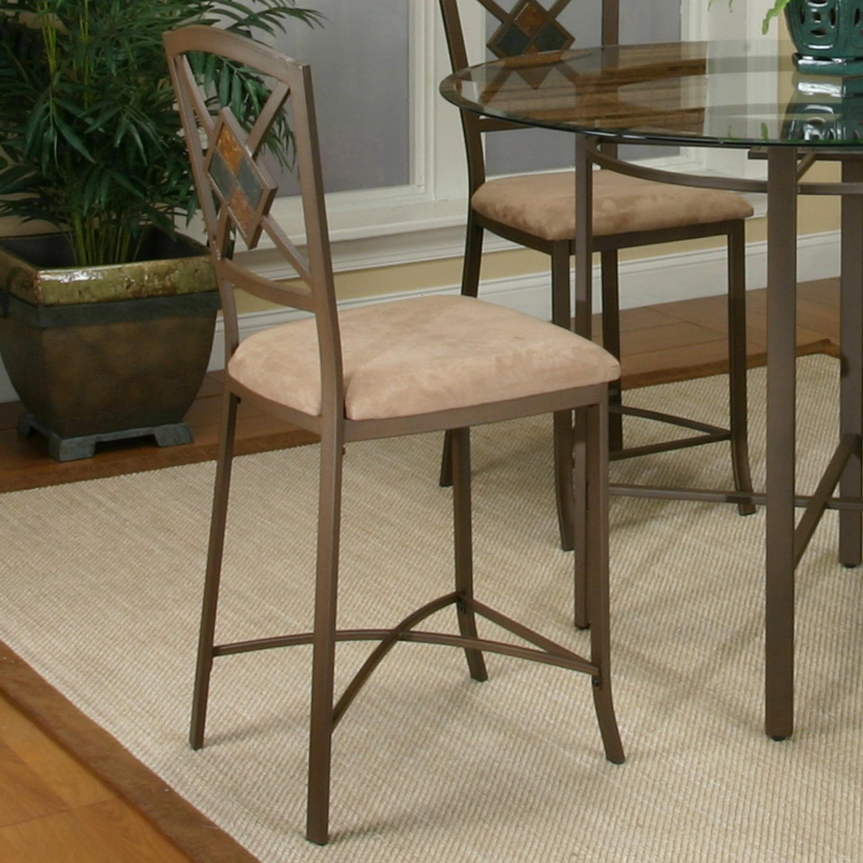 Cramco, Inc Cramco Trading Company - Piazza  Counter Stool - Item Number: W2550-24