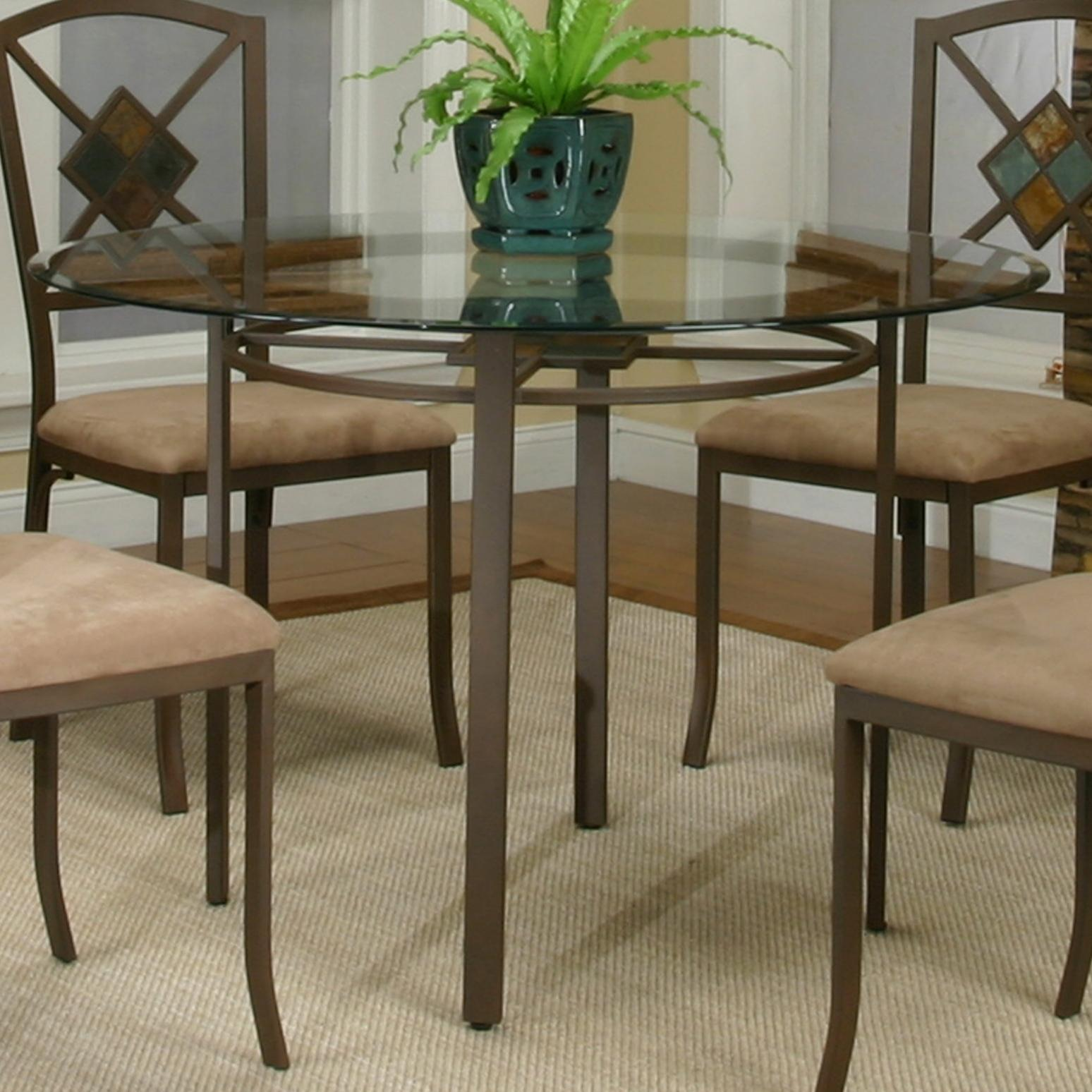 Cramco, Inc Cramco Trading Company - Piazza  Round Table - Item Number: W2550-47+41