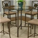 Cramco, Inc Cramco Trading Company - Piazza  Pub Table - Item Number: W2550-49+41