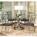 Cramco, Inc Pierce Dining Side Chair with Splayed Legs