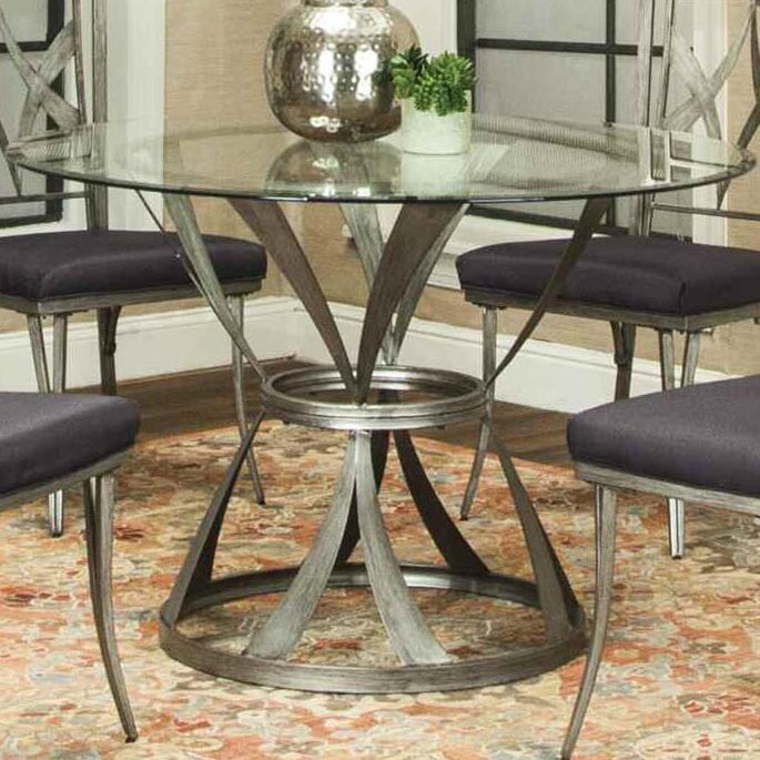Cramco, Inc Pierce Dining Table - Item Number: B9542-41 TT+B9542-47 TB