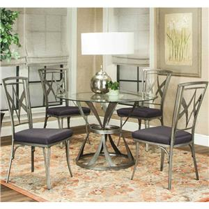 Cramco, Inc Pierce 5 Piece Table and Chair Set