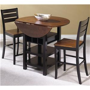 Cramco, Inc Quincy 3 Piece Pub Table