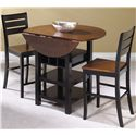 Cramco, Inc Quincy 3 Piece Pub Table - Item Number: A7572-68+2x24
