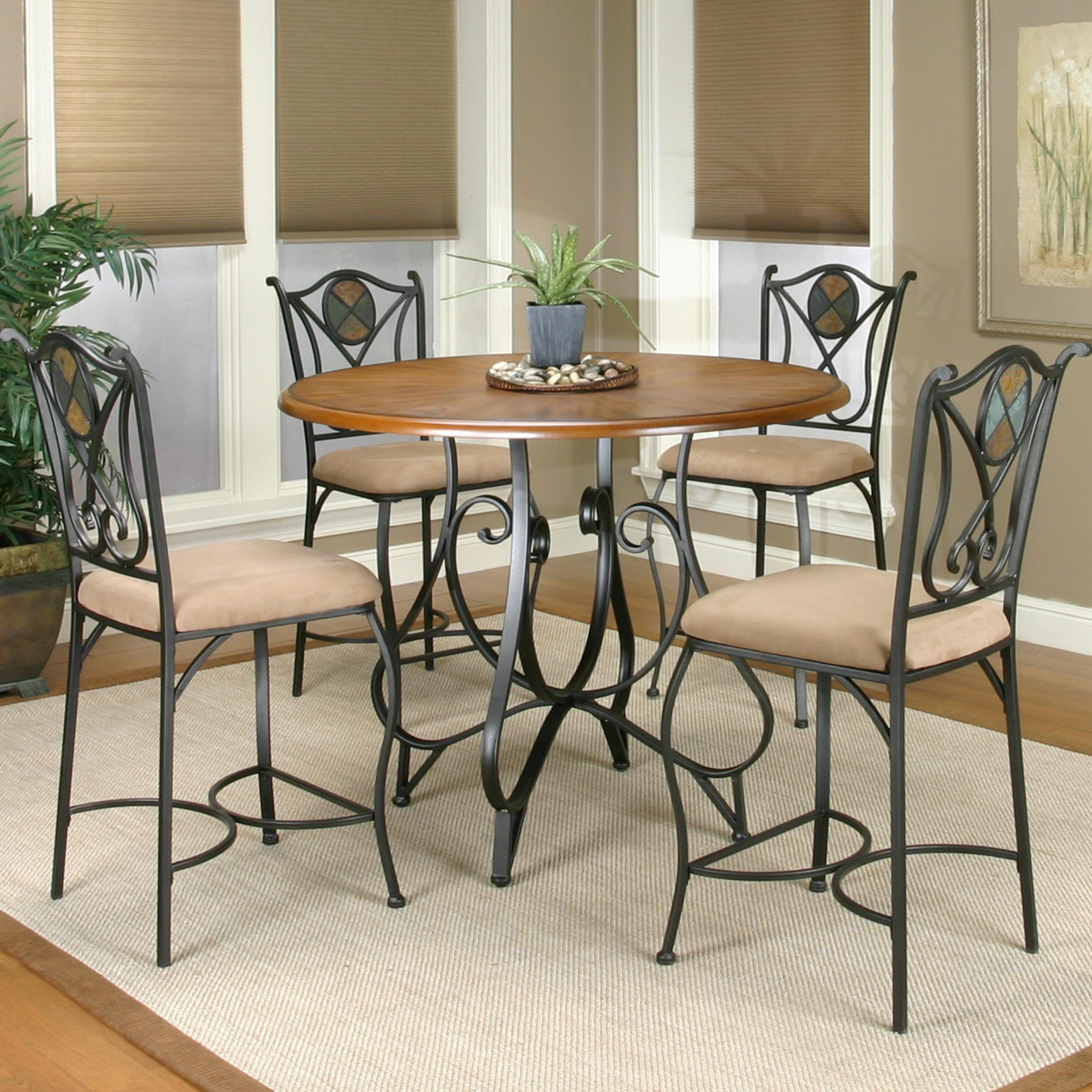 Counter Height and Counter Stool Set
