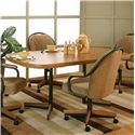 Cramco, Inc Shaw Bow-End Dining Table - Item Number: D8685-37+76