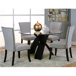 Cramco, Inc Sumner 25699 5 Piece Dining Table