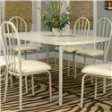Cramco, Inc Tawny Bow-End Almond Top Table - Item Number: D8715-56