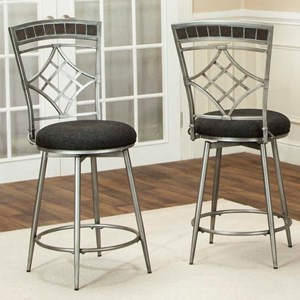 "Cramco, Inc Triumph 24"" Swivel Counter Stool"