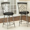"Cramco, Inc Triumph 24"" Swivel Counter Stool - Item Number: Y2726-24"