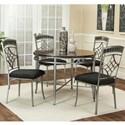 Cramco, Inc Triumph Dining Set - Item Number: Y2726-56+4x01