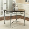 "Cramco, Inc Triumph 42"" Round Bluestone Marble Table - Item Number: Y2726-56"
