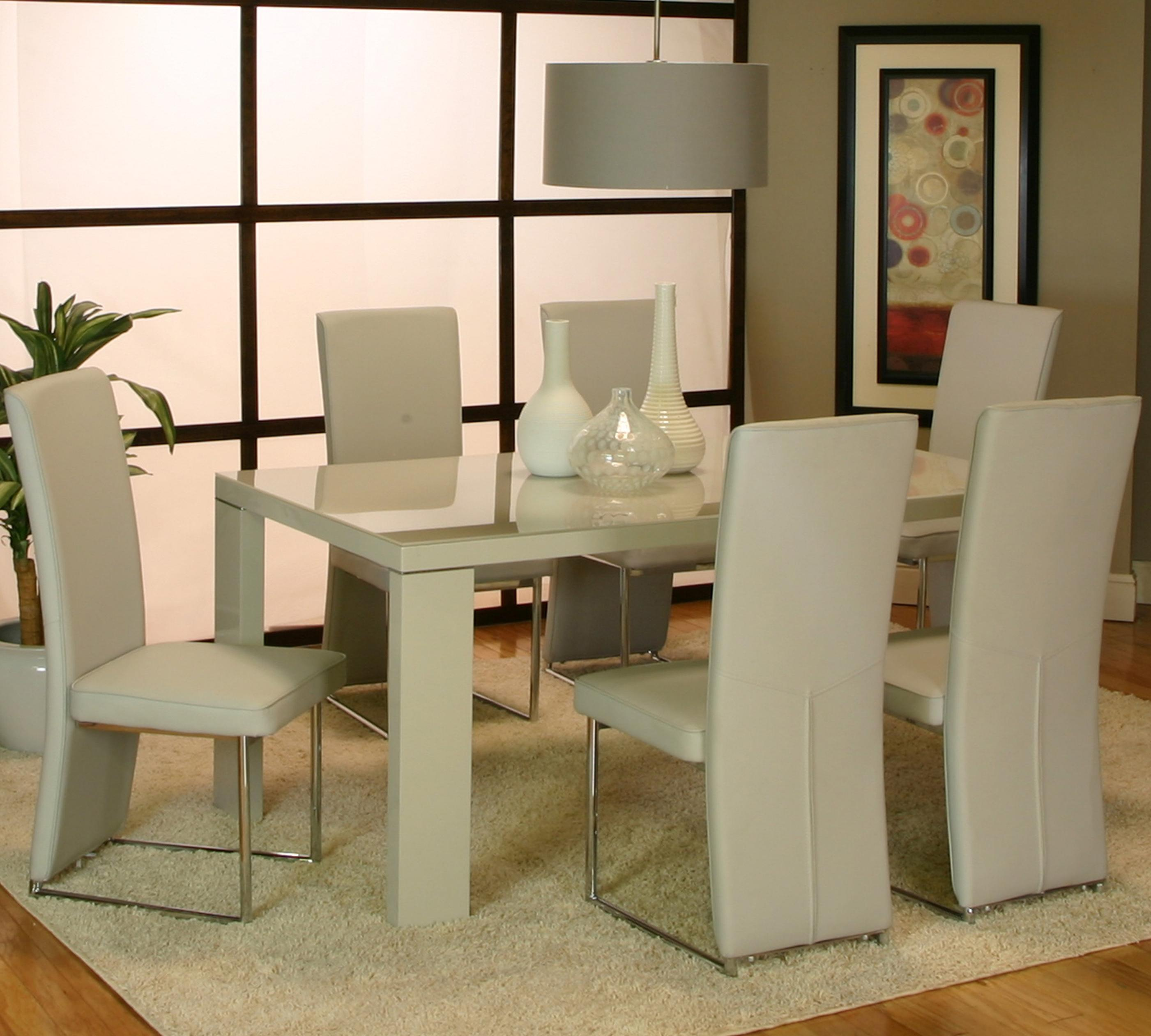 Dusk Dining Room Set Cramco: Cramco, Inc Venice Rectangular Dinner Table W/ Tempered