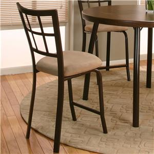 "Cramco, Inc Cramco Dinettes - Vision 24"" Counter Stool"
