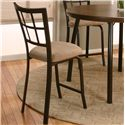 "Cramco, Inc Cramco Dinettes - Vision 24"" Counter Stool - Item Number: D8775-24"