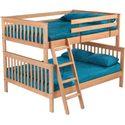 Crate Designs Pine Bedroom Bunk Bed - Item Number: 4778